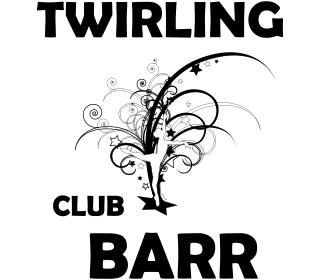 Logo creatio twirling club barr fil graff