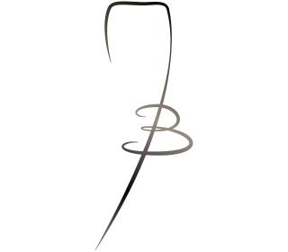 Logo vectorisation nathy coupe fil et graff