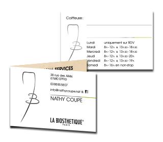 Nathy coupe carte 2 volets fidelite 1 pli infographie fil graff